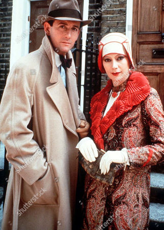 James Warwick and Francesca Annis
