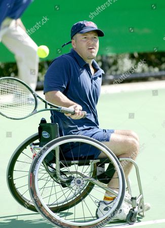 Editorial image of WHEELCHAIR CLASSIC 8  AT THE AUSTRALIAN OPEN TENNIS TOURNAMENT, MELBOURNE, AUSTRALIA - 30 JAN 2004