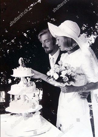 Ian getting married to wife Gudula in Switzerland 1970