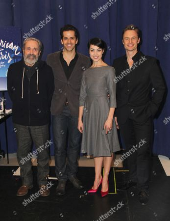 Craig Lucas, Robert Fairchild, Leanne Cope, Christopher Wheeldon