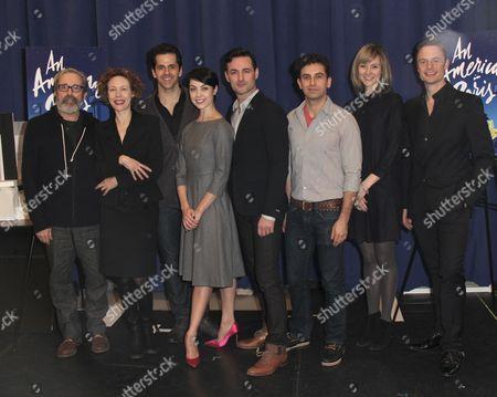 Stock Image of Craig Lucas, Veanne Cox, Robert Fairchild, Leanne Cope, Max Von