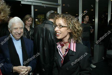 Elmer Bernstein and Prize Winner Linda Martinez