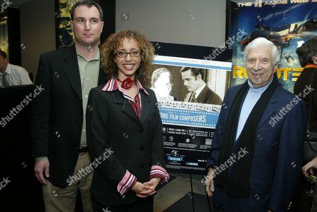 Charlie Tabesh, Linda Martinez and Elmer Bernstein