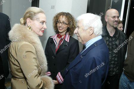 Stock Image of Anne Jeffreys Sterling, Linda Martinez and Elmer Bernstein