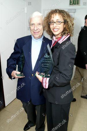 Prize Winner Linda Martinez and Elmer Bernstein