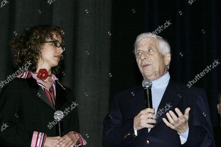 Stock Picture of Prize Winner Linda Martinez and Elmer Bernstein