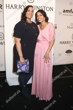 Rosario Dawson and her mother Isabel Celeste