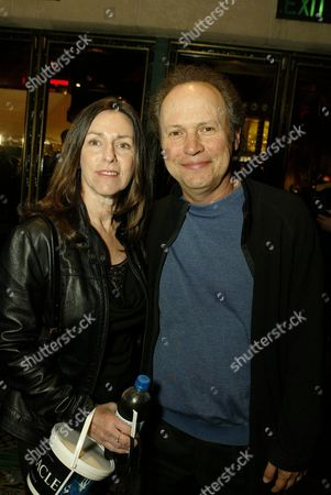Stock Image of Janice Goldfinger and Billy Crystal