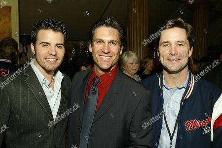 Nathan West, Mark Ciardi and Rob McClanahan