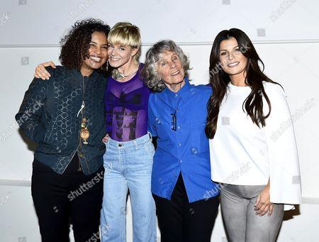 Neneh Cherry, Robyn Carlsson, Gullan Bornemark and Carola Häggkvist