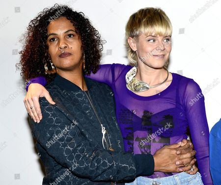 Neneh Cherry and Robyn Carlsson