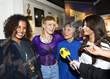 Editorial image of Artists inducted into The Swedish Music Hall of Fame, Stockholm, Sweden - 12 Feb 2015