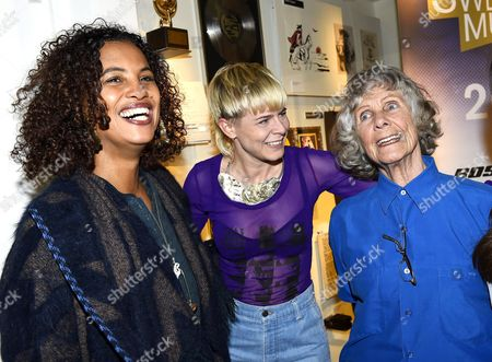 Stock Picture of Neneh Cherry, Robyn Carlsson and Gullan Bornemark