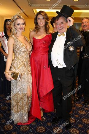 Cathy Lugner, Elisabetta Canalis, Richard Siegfried Lugner