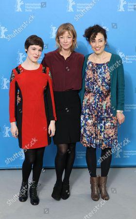 Victoria Schulz, Jenny Schily and Stina Werenfels