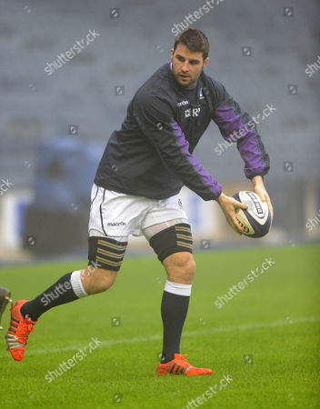 Johnnie Beattie - Scotland number 8.