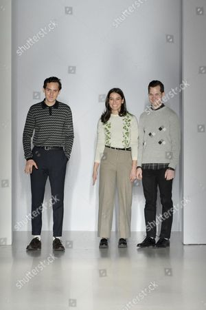 Editorial picture of Orley show, Autumn Winter 2015, Mercedes-Benz Fashion Week, New York, America - 13 Feb 2015