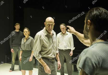Editorial image of 'A View From the Bridge' Play performed at Wyndham's Theatre, London. UK, 14 Feb 2015