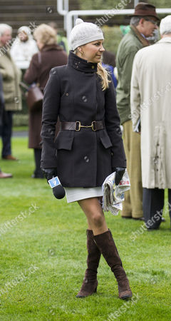 Channel 4 racing presenter Emma Spencer.