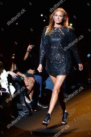 Stock Image of Cheyenne Tozzi on the catwalk