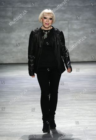Editorial photo of Venexiana show, Autumn Winter 2015, Mercedes-Benz Fashion Week, New York, America - 15 Feb 2015