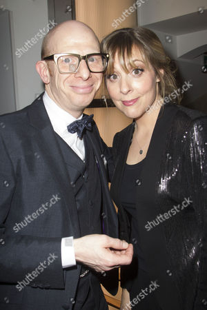 Hosts Steve Furst and Mel Giedroyc