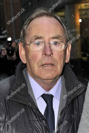 Colect Pic / Copy Foster - 11/2/14 Tv Weatherman Fred Talbot Appears At Manchester Magistrates Court Manchester Accused Of Nine Offences Of Indecent Assault And One Serious Sexual Assault Against A Total Of Five Complainants.