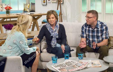 Gaby Roslin with Lisa Whaymund and Neil Munro