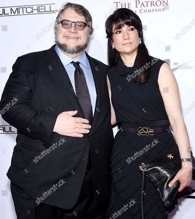 Guillermo de Toro and Lorenza Newton