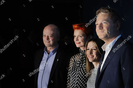 David Barron, Sandy Powell, Alli Shearmur and Kenneth Branagh