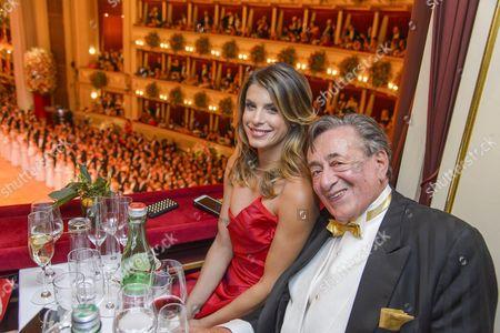 Elisabetta Canalis, Richard Siegfried Lugner