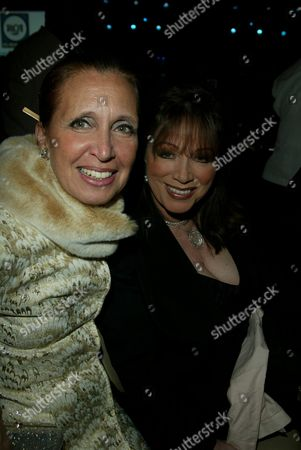 Danielle Steele and Jackie Collins