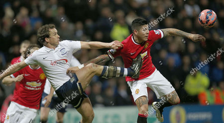 UTD MARCOS ROJO AND KEVIN DAVIES