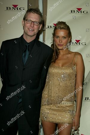 Craig Kilborn and Petra Nemcova