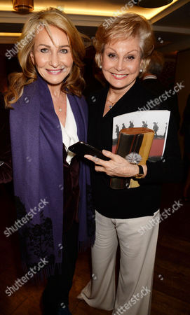 Stock Photo of Maureen Sutherland Smith and Angela Rippon