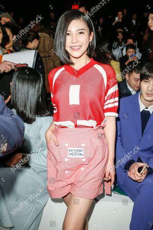 Yang Zishan front row