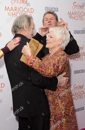 Judi Dench, John Madden and Ronald Pickup