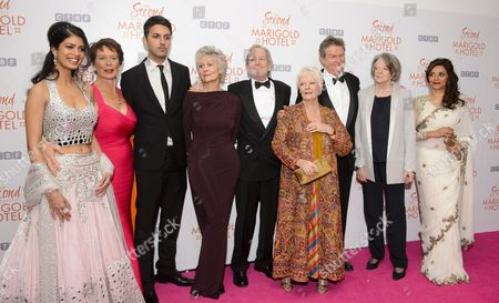 Judi Dench, John Madden, Dame Maggie Smith and Ronald Pickup