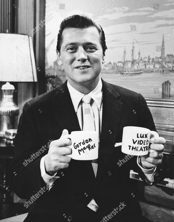 New York, New York: September, 1956 Actor and singer Gordon MacRae is the host the NBC television show 'Lux Video Theater'.