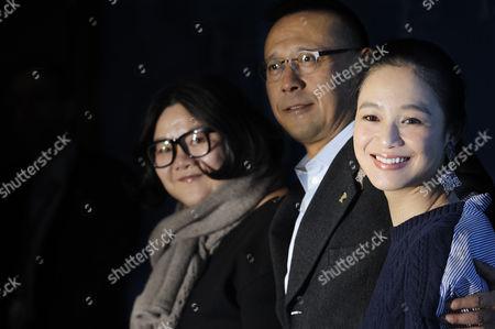 Hung Huang, Jiang Wen and Zhou Yun