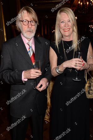 Carole White with a guest