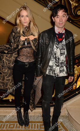 Mary Charteris and husband Robbie Furze