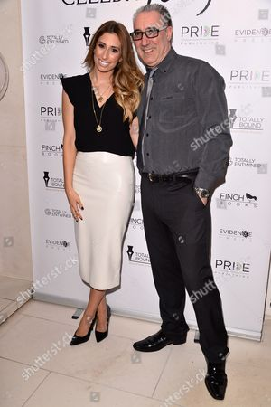 Stock Picture of Stacey Solomon and Warren Askew