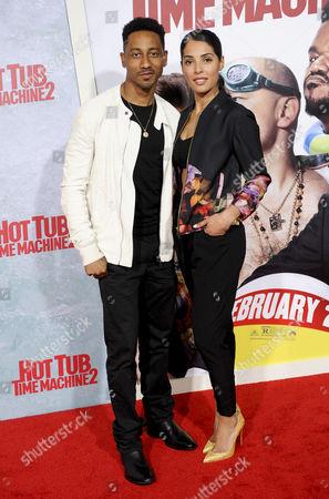 Brandon T Jackson and Denise Marie Xavier