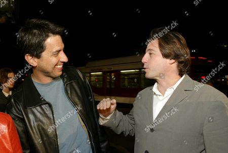 Ray Romano and Jeffrey Godsick