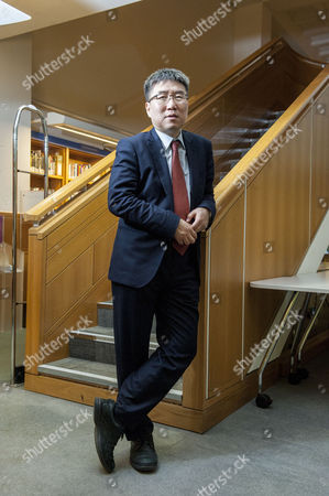 Editorial picture of Dr Ha-Joon Chang, economist, at Enduring Ideas: The Problem with Capitalism, British Library, London, Britain - 17 Feb 2015
