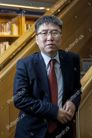 Editorial photo of Dr Ha-Joon Chang, economist, at Enduring Ideas: The Problem with Capitalism, British Library, London, Britain - 17 Feb 2015