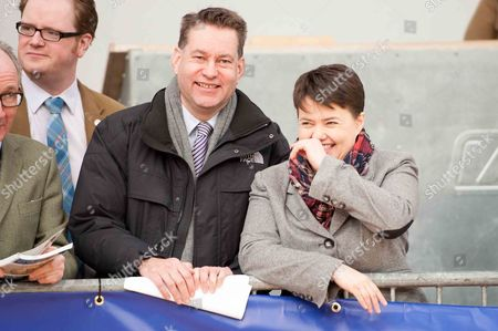 Stock Image of Scottish Conservative leader, Ruth Davidson, and MSP Murdo Fraser
