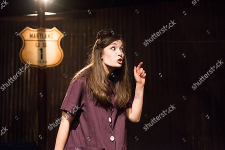 How I Learned to Drive, by Paula Vogel, directed by Jack Sain, at Southwark Playhouse. Bryony Corrigan (Teenage Greek Chorus).