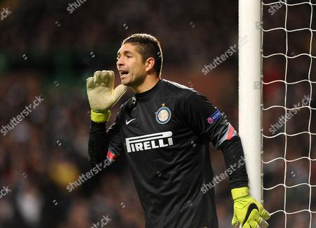 Juan Pablo Carrizo of Inter Milan